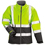 Phase 3 Fluorecent Yellow-Green-Charcoal Gray Jacket with Reflective Tape