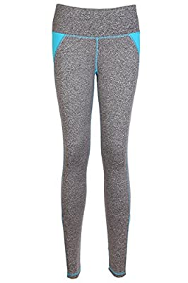 Miss Moly Womens High Waist Yoga Pants Moisture Wicking Ombre Athletic Leggings