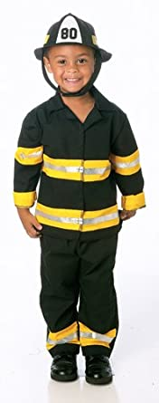 Junior Fireman Toddler Costume Size 3T-4T