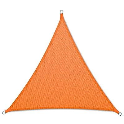 casa pura® Sonnensegel wasserabweisend imprägniert | Dreieck gleichseitig | UV Schutz | verschiedene Farben und Größen von casa pura - Gartenmöbel von Du und Dein Garten