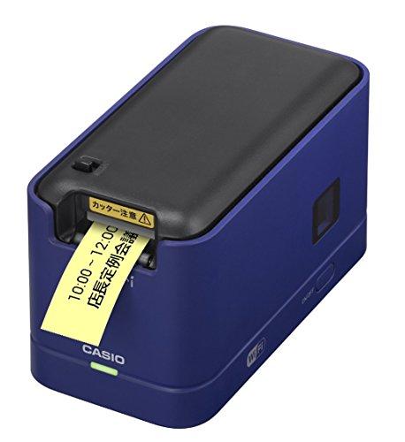 カシオ メモプリ Wi‐Fi対応 MEP-F10-BU ブルー