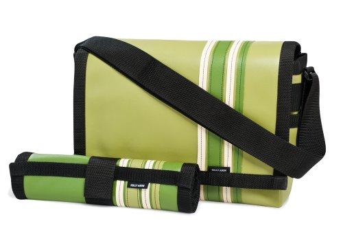 Holly Aiken Airship Diaper Messenger Bag, Daytona, Avocado/Olive