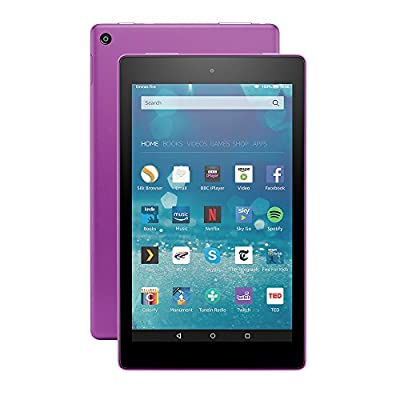 "All-New Fire HD 8 Tablet, 8"" HD Display, Wi-Fi, 16 GB (Magenta) - Includes Special Offers"