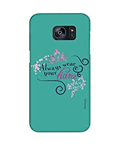 Pick pattern Back Cover for Samsung Galaxy S7 Edge