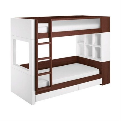 Trundle  Frame Directions on Duet Bunk Bed Snow Natural Catalpa Trundle And Mattress Frame