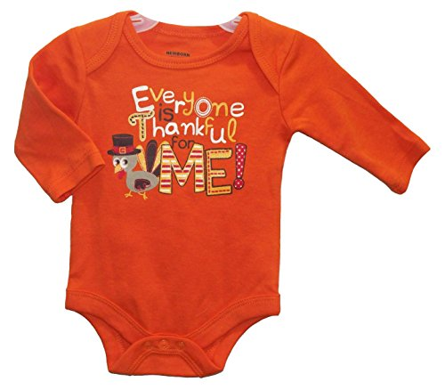 Everyone is Thankful for ME! Thanksgiving Baby Girls' Boys' Bodysuit Dress Up Outfit