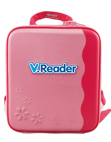 VTech - V.Reader Animated E-Book System - Storage Tote - Pink - 1