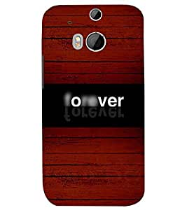 Fuson 3D Designer Back Case Cover For HTC One (M8)