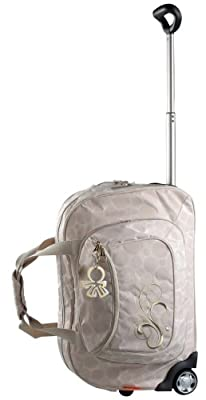 Okiedog Bliss Voyager Luxury Baby Changing Bag Trolley (Beige) from Great Gizmos