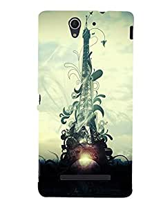 Citydreamz Back Cover For Sony Xperia C3|