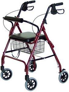 walkabout-lite-rollator-12lbs-removable-wire-basket-loop-locking-brake-black-by-lumex