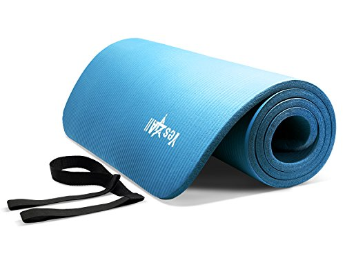Yes4All Yoga Mat NBR, Blue