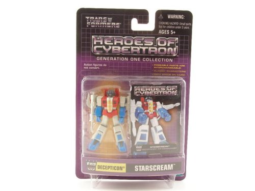 Transformers Heroes of Cybertron - Starscream Decepticon Action Figure - Buy Transformers Heroes of Cybertron - Starscream Decepticon Action Figure - Purchase Transformers Heroes of Cybertron - Starscream Decepticon Action Figure (Transformers, Toys & Games,Categories,Action Figures,Collectibles)