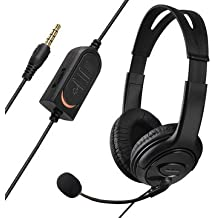 Wired Gaming Headset Headphones With Microphone For Sony PS4 -