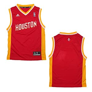 NBA HOUSTON ROCKETS Youth Athletic Jersey Top by NBA