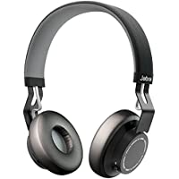 Jabra Move Wireless Bluetooth Stereo Headphones with Built-In Call and Media Controls (Black)