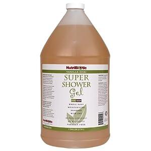 Nutribiotic Super Shower Gel, Vanilla Chai, 128 Fluid Ounce