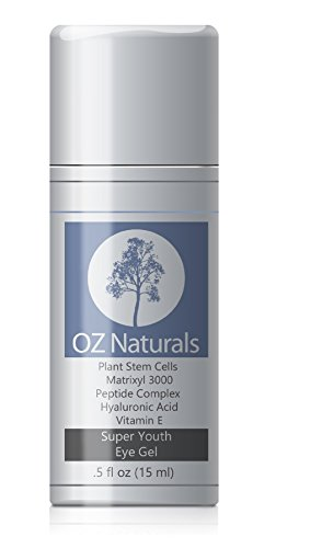 OZ Naturals - The BEST Eye Gel - Eye Cream For Dark Circles + Puffiness + Wrinkles - This Eye Gel Treatment Addresses Most Every Eye Concern - 100% Natural ALLURE MAGAZINE'S Best In Beauty Eye Gel.