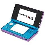 GTMax Dark Purple Aluminum Hard Metal Cover Case for Nintendo 3DS
