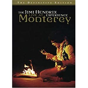 The Jimi Hendrix Experience - Live At Monterey [DVD] [1967]