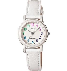 Casio Women's LQ-139L-7BCF White Analog Casual Watch