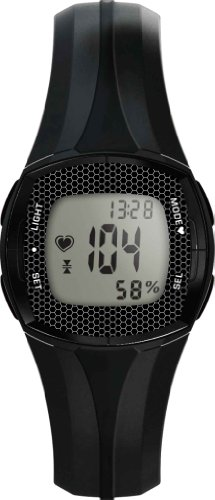 Cheap WCI Quality Heart Rate Monitor Watch With LED Display And Stopwatch Alarm – Measures Pulse, Fat And Calories Burned – For Exercise, Sports, Running, Jogging and All Outdoor Activities (GHRMF68LGB)