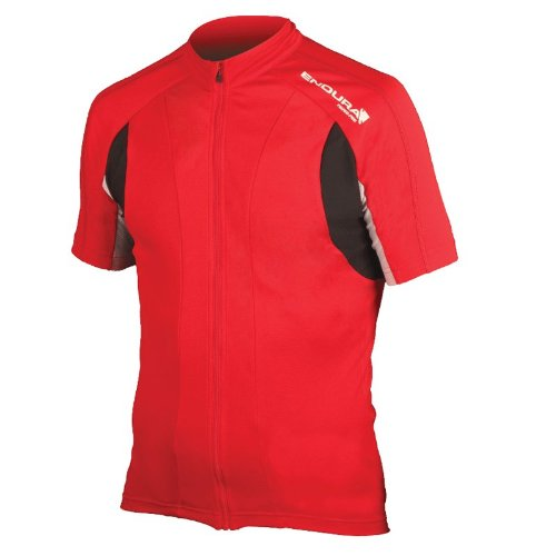 Buy Low Price ENDURA Endura FS260-Pro Jersey 2012 X-Large Red (E3050R/6)