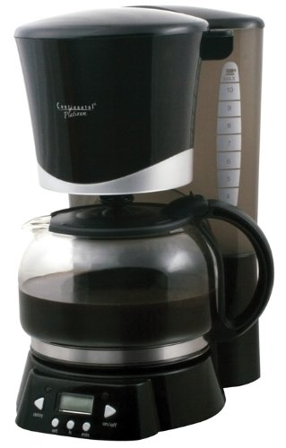 Continental Electric Coffee Maker How To Use : Coffee Percolator Electric: Cem Global Cp43669 Continental Cp43669 10 Cup Coffee Maker Black