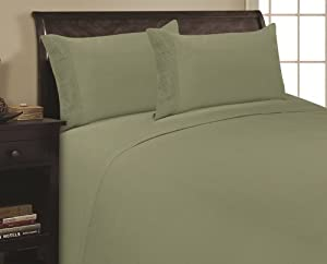 Elegance Linen ® 1500 Thread Count PLEATED DESIGN Egyptian Quality Luxurious Silky Soft WRINKLE FREE & FADE RESISTANT 4 pc Sheet set, Deep Pocket Up to 16