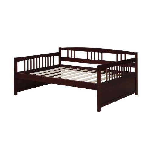 Dorel Living Morgan Full Daybed, Espresso (Full Size Trundle Bed compare prices)