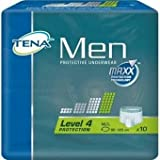 Tena Men Protective Underwear Level 4 - Medium/Large Absorbency 550ml - 10 Pieces - Pack Of 1
