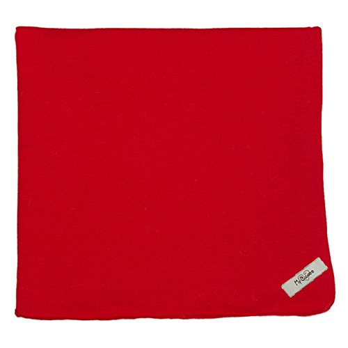 "My Blankee Organic Cotton  Jersey Knit Swaddle Baby Blanket, 47"" X 47"", Red"