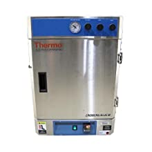 Thermo Scientific ELED VO1824HPC Painted Steel Finish Lindberg/Blue M Vacuum Oven with Digital Microprocessor Control, Over-Temperature Protection and One Shelf, 240V/60Hz, 127.4L/4.5-Cubic Foot Capacity, +6 to 260 Degree C
