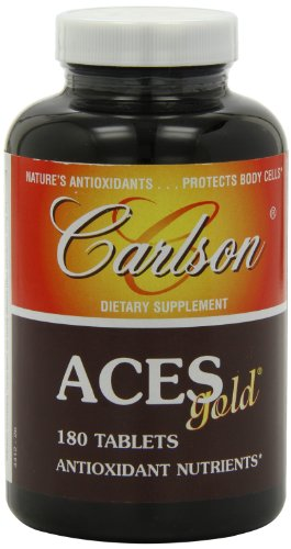 Carlson Labs ACES Gold Multiple Antioxidants, 180