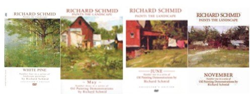 Richard Schmid Paints the Landscape Collection