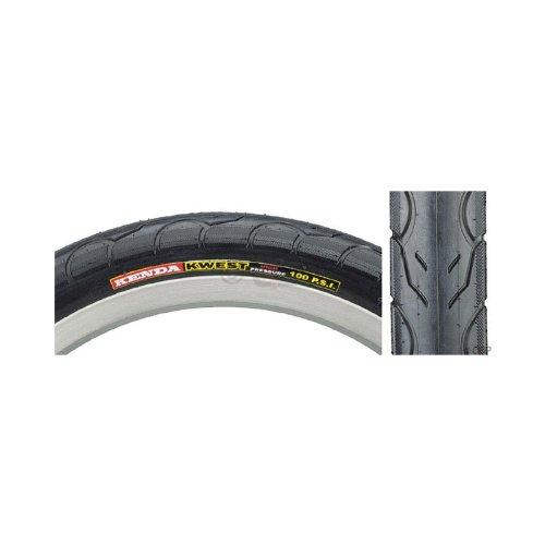 Kenda Tire, Kwest High Pressure 16 x 1.5 Black/Black Steel