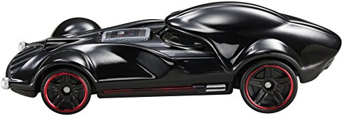 Hot Wheels Star Wars Character Car, Darth Vader