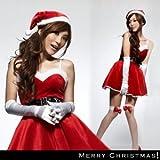 Xmas クリスマスサンタ お得なコスプレ4点セットsd016