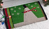 Doormat Gift Shop - Snowman Coir Doormat :  snowman coir doormat doormat shop gift