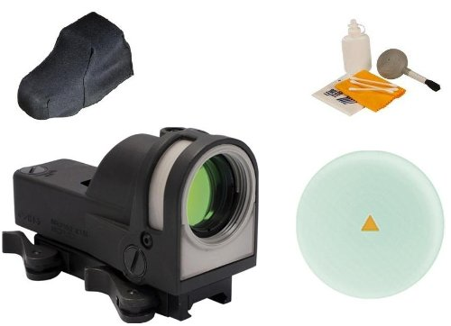 Meprolight Mepro M21 Self-Powered Day And Night Open Reflex Triangle Dot Reticle Sight Optic Qr Quick Release Lever Attaches To Weaver Picatinny Rail Mount System - Always Ready For Action No Batteries Or Switches Required + Dust Cover Protector + Ultimat