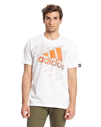 Adidas T-Shirt Manica Corta Shockwave Logo [Bianco]