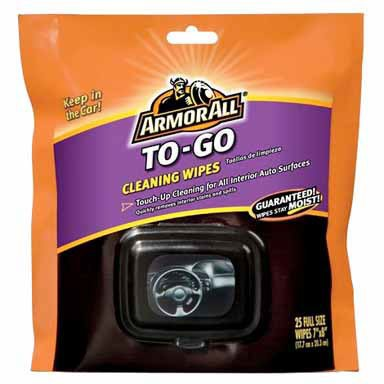 ArmorAll 78434 To-Go Cleaning Wipe