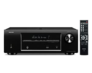 Denon AVR-E200 5.1 Channel 3D Pass Through Home Theater Receiver