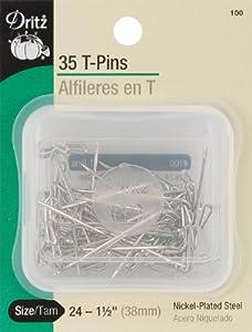 Dritz T-Pins size 24 35/pkg