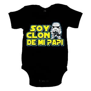 Body Star Wars soy clon de mi papi Soldado Imperial Stormtrooper marca Diver Bebe - BebeHogar.com