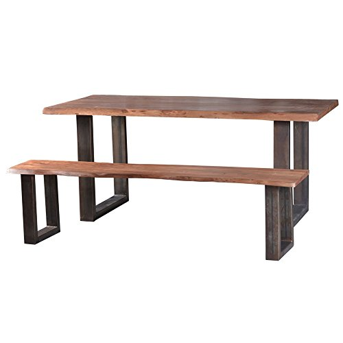 massivholz esstisch mit bank com forafrica. Black Bedroom Furniture Sets. Home Design Ideas