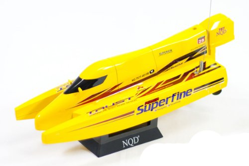 Super Fine Mini F1 Racing Boat RC 1/38 Micro Cyclone Catamaran Radio Control Electric Speed Ship