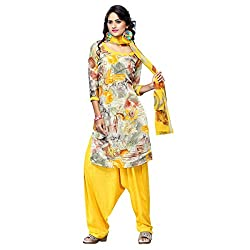Triveni Women's Crape Salwar Kameez Dress Material (TSHCSSK6753D_Multi)