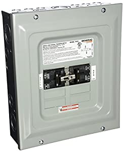 Generac 6333 60-Amp Single Load Double Pole Manual Transfer Switch for Portable Generators