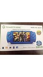 Grand Classic GCL-01 PSP Handheld Console (Blue) - Blue